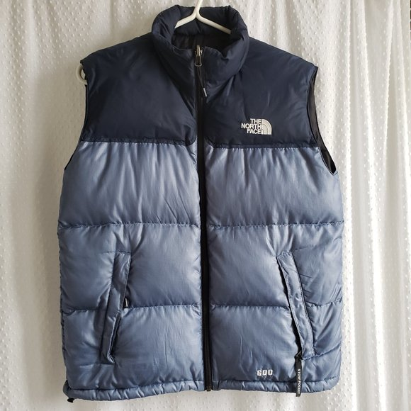 The North Face Puffer Vest Child Lg Blue